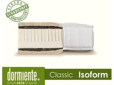 Dormiente Natural Classic Isoform Latex-Matratzen 90x200 cm medium Bezug 5A