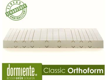 Dormiente Natural Classic Orthoform Latex-Matratzen Male 200x200 cm fest Bezug 4