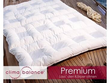Sanders ClimaBalance Premium Daunendecken Warm 200x220 cm 1520g