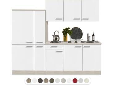 Optifit Miniküche mit E-Geräte, Breite 240 cm