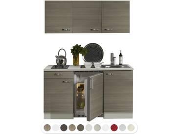 Optifit Miniküche mit E-Geräte, Breite 150 cm