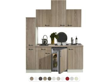 Optifit Miniküche mit E-Geräte, Breite 180 cm