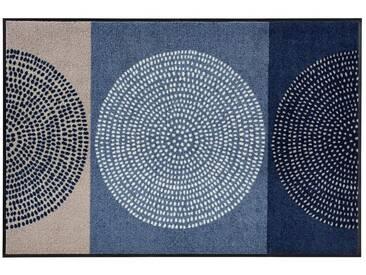 Salonloewe SALONLOEWE Fußmatte , waschbar, blau, blau/beige