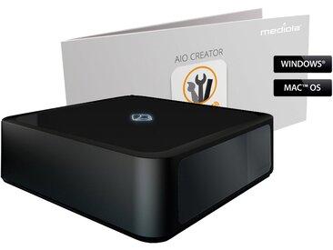 Mediola Smart Home - AIO Gateway V5 Plus inkl. Automation Manager »Ultimative Automation Bundle«, schwarz, schwarz