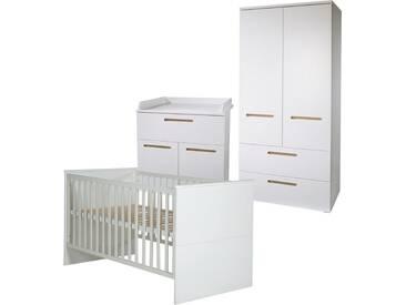 Roba® Roba Kinderzimmer Set (3-tlg.), Kinderzimmer, »Cambino City«, weiß, weiß