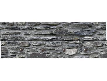Artland Wandgarderobe »Lieb: Schiefermauer«, grau, 30 x 90 x 2,8 cm, Grau