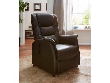 Duo Collection TV-Sessel, in NaturLEDER, braun, schokolade