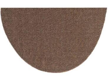 HANSE Home Fußmatte »Deko Soft«, U-förmig, Höhe 7 mm, saugfähig, waschbar, braun, 7 mm, braun