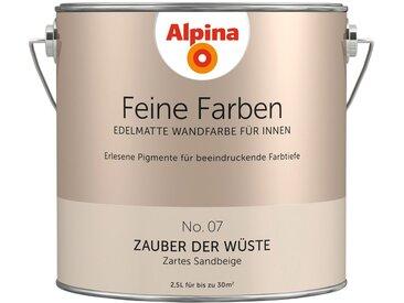 Alpina ALPINA Farbe » Feine Farben Zauber der Wüste«, 2,5 l, natur, Zartes Sandbeige