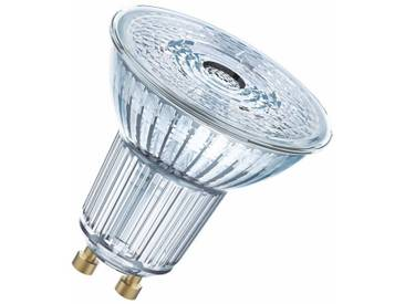 Osram LED SUPERSTAR PAR16 - Dimmbare LED-Lampe, Retrofit-Stecksockel »SST PAR16 7.2W/827 GU10«, weiß, transparent