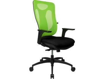 TOPSTAR Bürostuhl »Net Pro 100«, schwarz, schwarz/grün