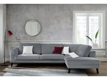 Guido Maria Kretschmer Home&Living Ecksofa »Bilge«, grau, 297 cm, Ottomane rechts, grau