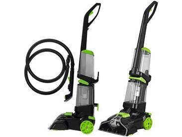 CLEANmaxx CLEAN MAXX Teppichreiniger »Professional«, Inkl. Teppichshampoo, grün, grün