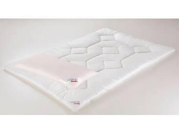 Paradies Microfaserbettdecke + Microfaserkissen, »Set Holstein-Light BW«, Geprüfte Qualität, Leicht
