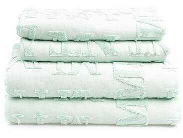 Casa di Bassi Handtuch Set »TYPO«, grün, mint