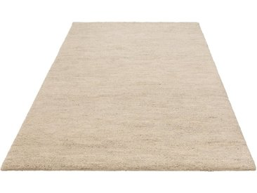 Leonique Wollteppich »Punam«, rechteckig, Höhe 28 mm, Echter Berber, natur, sand