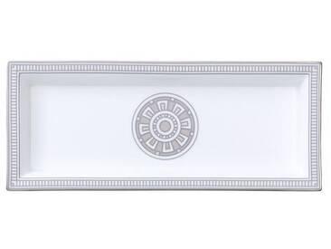 Villeroy & Boch rechteckige Schale »La Classica Contura Gifts«, silberfarben, 25x10cm, silber/platin