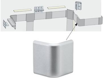 Paulmann LED-Streifen »Duo Profil Corner 2er Pack Alu matt, Kunststoff«, silberfarben, silberfarben