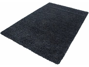Ayyildiz Hochflor-Teppich »Life Shaggy 1500«, rechteckig, Höhe 30 mm, grau, 30 mm, anthrazit