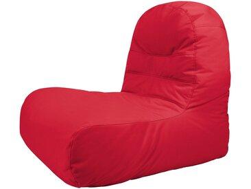 OUTBAG Sitzsack »Bridge Plus«, für den Außenbereich, BxT: 65x95 cm, rot, rot