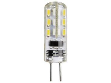 Xavax LED-Lampe, G4, 100lm ersetzt 11W Stiftsockellampe, Warmweiß, silberfarben, Silber