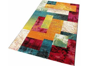 LALEE Teppich »Lima 303«, rechteckig, Höhe 15 mm, bunt, 15 mm, multi