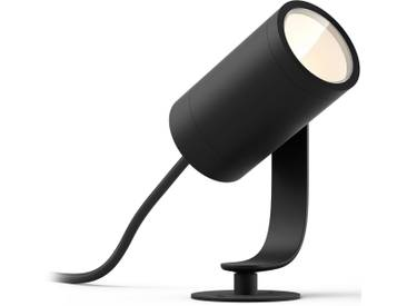 Philips Hue LED Gartenstrahler »Lily«, 1-flammig, Erweiterung (ohne Netzteil) - Base Kit 1- oder 3-flammig erforderlich, schwarz, 1 -flg. /, schwarz