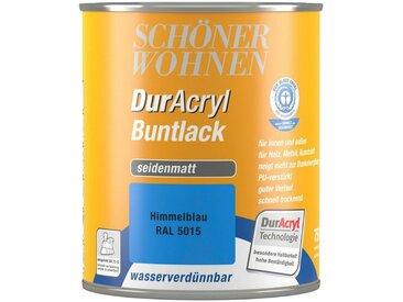SCHÖNER WOHNEN-Kollektion Schöner Wohnen Farbe Buntlack »DurAcryl seidenmatt, 750 ml himmelblau«, blau, blau