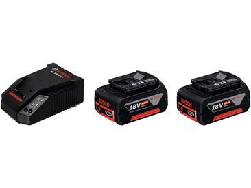 Bosch Professional Ladegerät »GBA 18 V + AL 1860 CV«, 18 V 4 Ah, schwarz, schwarz