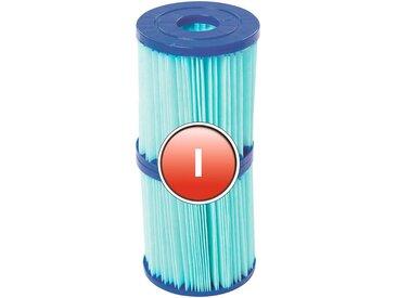 Bestway BESTWAY Ersatzfilterkartusche »Flowclear™«, Gr.I, 8 x 9 cm, blau, 8 cm, blau