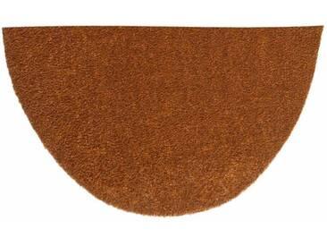 HANSE Home Fußmatte »Deko Soft«, U-förmig, Höhe 7 mm, saugfähig, waschbar, natur, 7 mm, natur