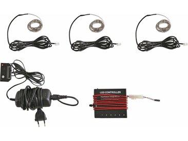 LED Dekolicht »RGB Flexband«, (3 Stück) mit Funkfernbedienung