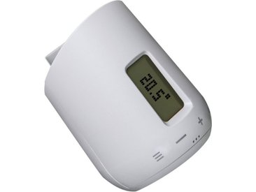 EUROtronic Eurotronic Heizkörperthermostat »Genius LCD 100«, weiß, Weiß