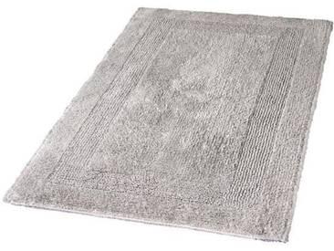 Kleine Wolke Badematte »Arizona« , Höhe 16 mm, fußbodenheizungsgeeignet, beidseitig verwendbar, grau, 16 mm, silberfarben-grau