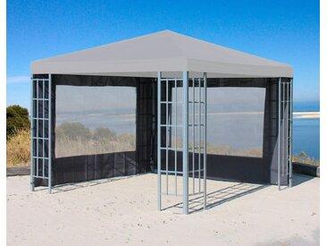 Quick Star QUICK STAR Seitenteile für Pavillon »Rank«, für 300x300 cm, 2 Stk., grau, für 3 x 3 m Pavillon, grau