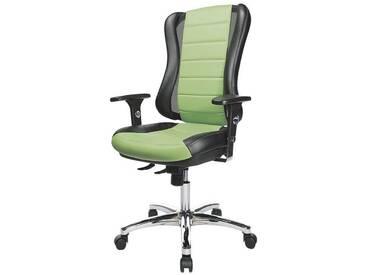 TOPSTAR Bürostuhl ohne Armlehnen »Headpoint RS Deluxe«, schwarz/grün