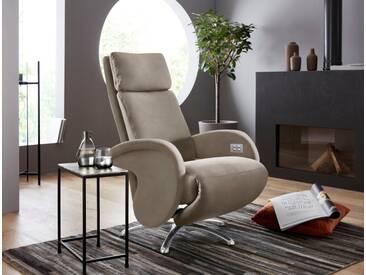 W.SCHILLIG Relaxsessel »jupiter« mit Sternfuß, grau, stone Z59