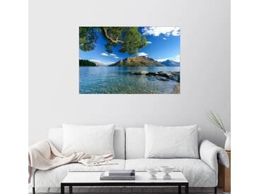 Posterlounge Wandbild - Thomas Hagenau »Queenstown Neuseeland«, bunt, Holzbild, 150 x 100 cm, bunt