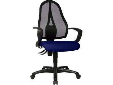 TOPSTAR Bürostuhl »Open Point P«, blau, blau
