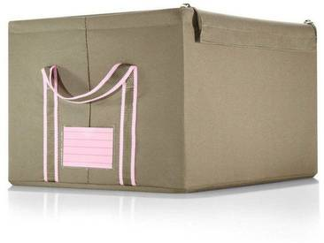 REISENTHEL® Aufbewahrungsbox »storagebox M«, grün, khaki