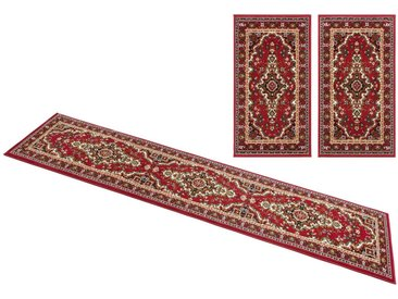 DELAVITA Bettumrandung »Ali« , höhe 7 mm, rot, 7 mm, rot