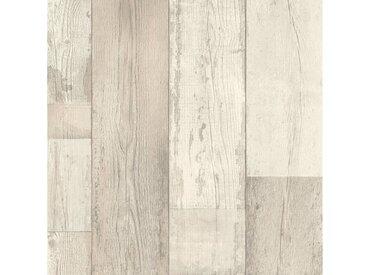 Andiamo ANDIAMO Vinylboden »Tas altweiß«, Breite 200 cm, Meterware, Stab-Optik Vintage weiß, weiß, altweiß