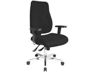 TOPSTAR Bürostuhl ohne Armlehnen »P91«, schwarz, schwarz