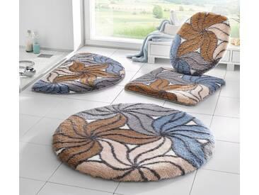 Kleine Wolke Badeteppich, natur, natur-blau