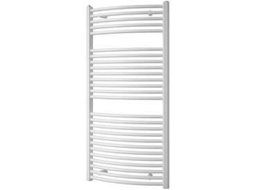Schulte SCHULTE Designheizkörper »Mannheim«, grau, 121 cm, silbergrau