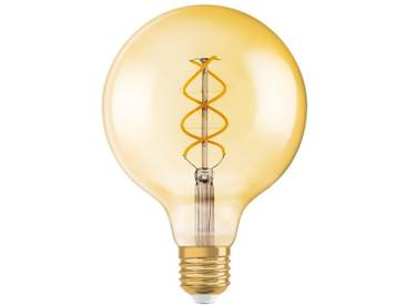 Osram LED-Lampe, Vintage 1906 Edition, Ballform »RF1906 GLOBE 25 CL 5 W/820 E27 GOLD«, goldfarben, gold