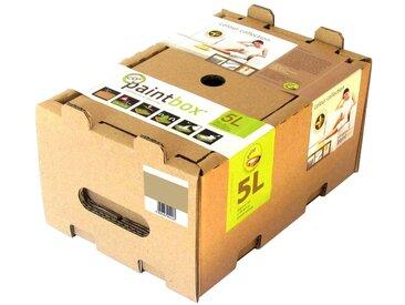 Rügenfarben Paintbox Wand- und Deckenfarbe »Paintbox Colour Collection, Cappuccino«, seidenmatt, natur, 5 l, dunkelbeige