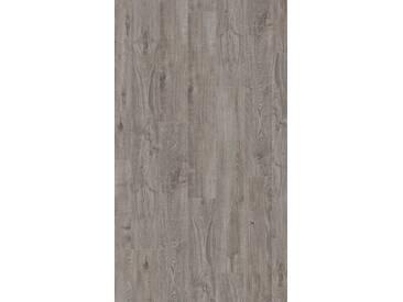 PARADOR Laminat »Basic 200 - Eiche Lichtgrau«, 1285 x 194 mm, Stärke: 7 mm, grau, grau