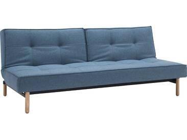 INNOVATION™ Schlafsofa »Splitback« mit Stem Beinen, in skandinavischen Design, blau, lightblue