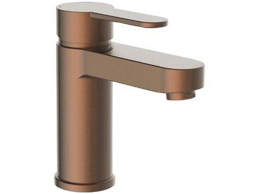Schütte SCHÜTTE Waschtisch-Einhebelmischer »ELEPHANT«, Badarmatur mit Ablaufgarnitur und Abflussstopfen, braun, braun